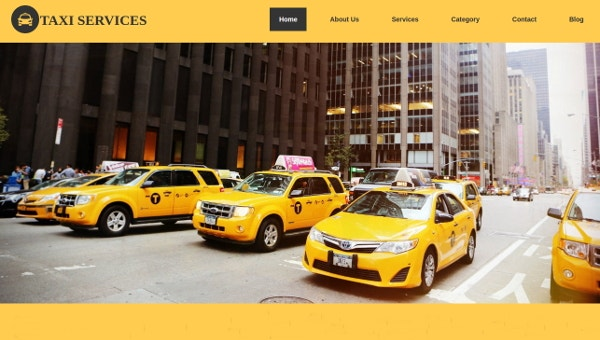 19+ Taxi Website Templates - Online, City, Service | Free