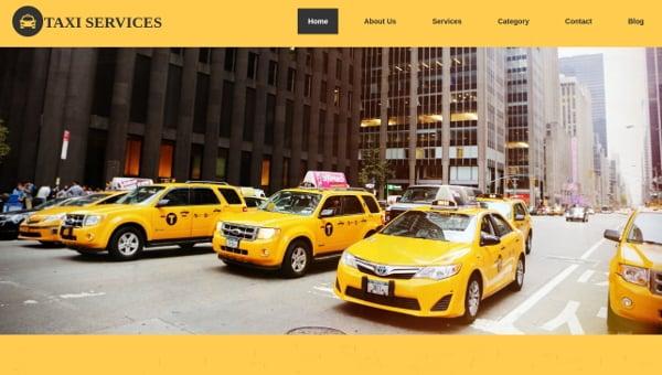 19+ Taxi Website Templates - Online, City, Service | Free & Premium