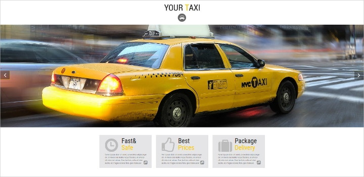taxi-css-template