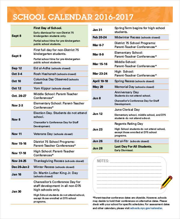 41+ Calendar Templates | Free & Premium Templates