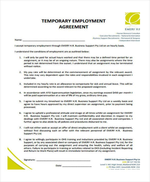 temporary employment2