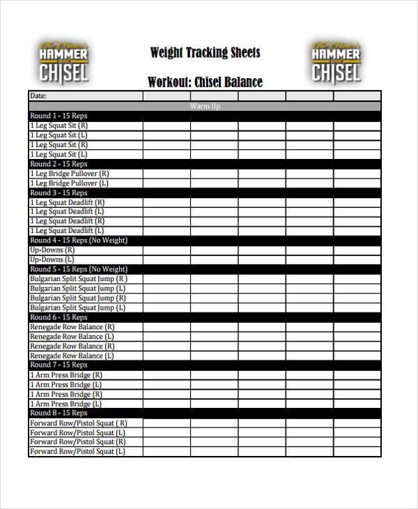 tracking sheet3