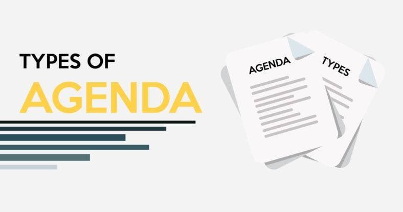 types-of-agenda