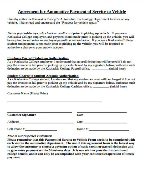 47  basic agreement templates