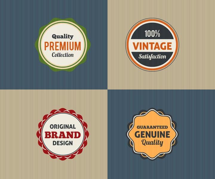 vintage-badge