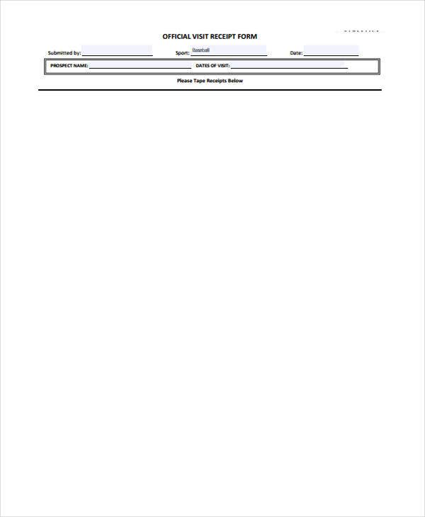7 Doctor Receipt Templates Free Sample Example Format Download