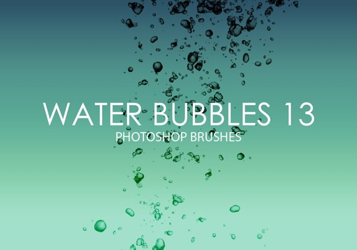 water-bubbles-brushes