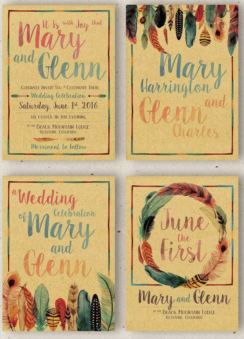 watercolor-feathers-wedding-stationery