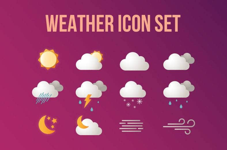 weather icons 788x520