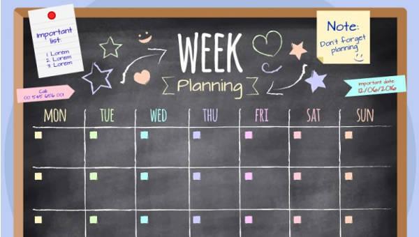 weeklyschoolscheduletemplatessampleexample