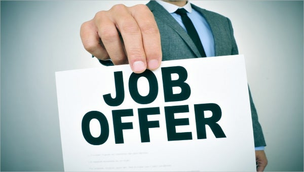 what is included in a job offer letter1