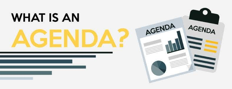 A Complete Guide To Making An Agenda  Free  Premium Templates
