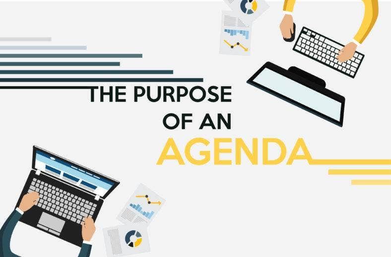 what is the purpose of an agenda 788x519