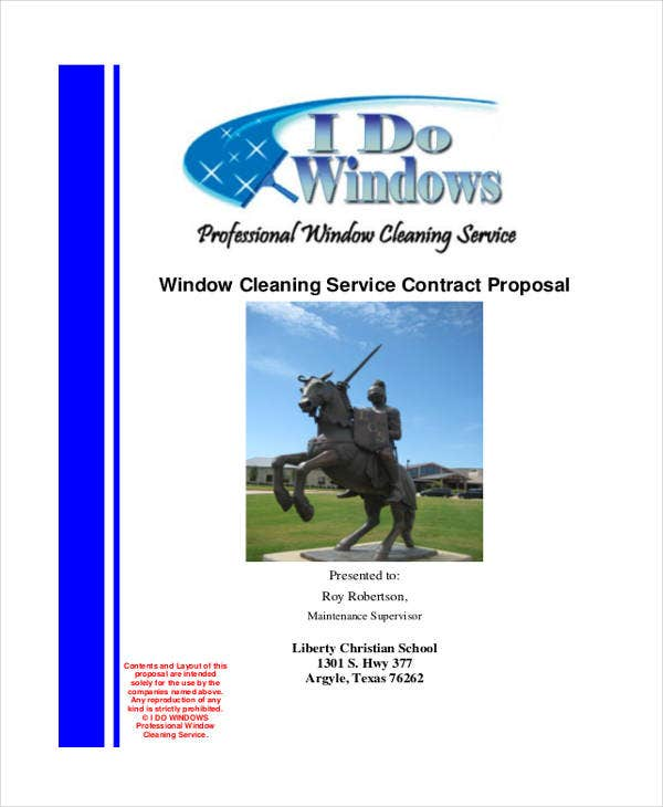 5+ Cleaning Business Proposal Templates - Free Word, Pdf Format