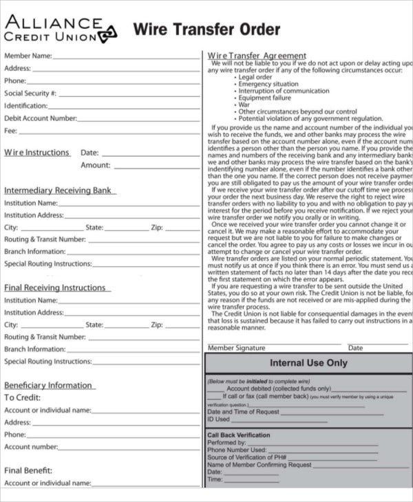 Outstanding Wells Fargo Wire Transfer Form Sketch Everything You