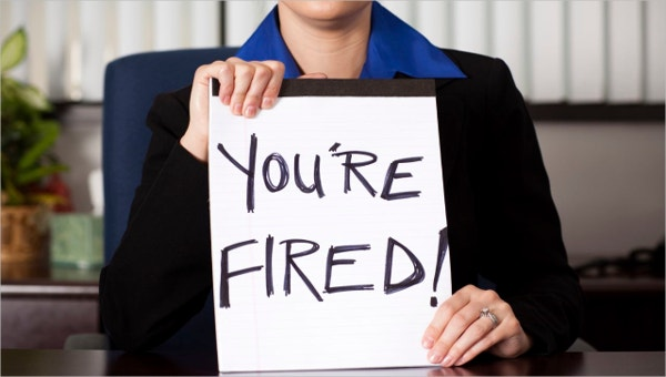 write a termination letter to fire an employee