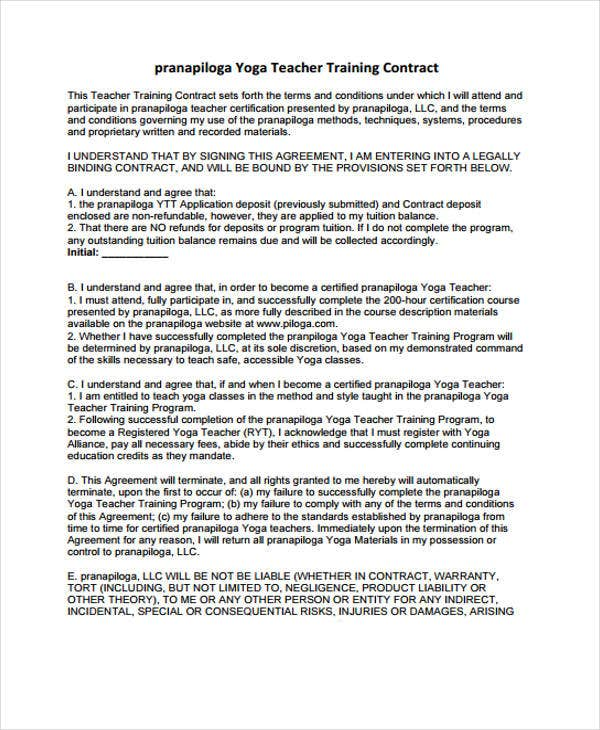 Teacher Contract Template Nyc Teachers Contract 2014 At A Glance – Student Agreement Contract