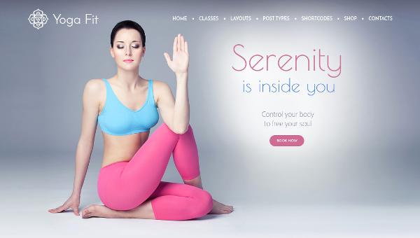 15 Yoga Wordpress Themes For 2017 Free Premium Templates