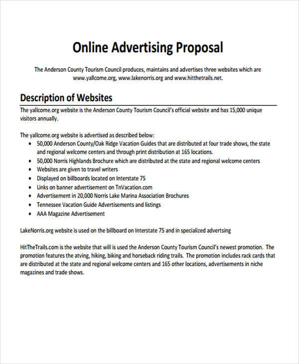 Sample Proposal Templates  Free  Premium Templates