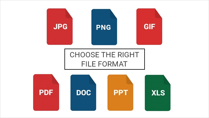 choose the right file format2