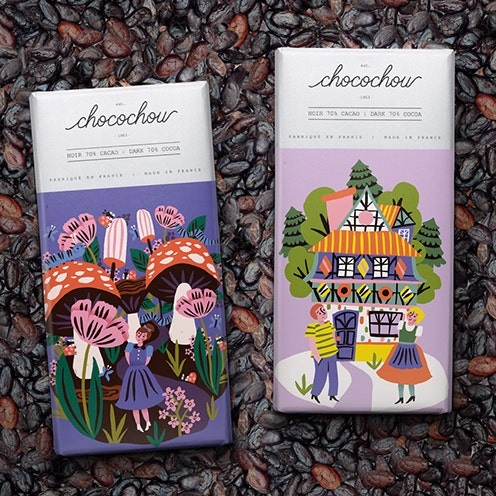 Fairytale Chocolate Bar Design