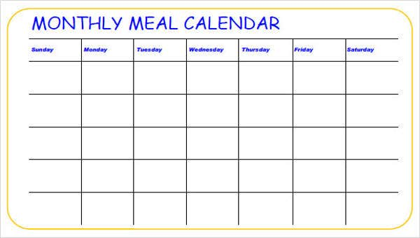 Blank Monthly Calendar Template Word from images.template.net