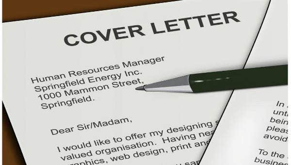 9 Short Cover Letter Template Examples