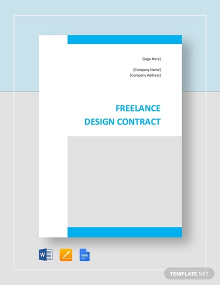 freelance design contract