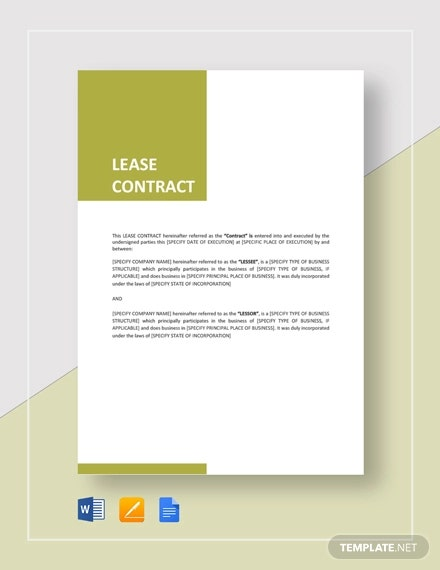 lease contract4