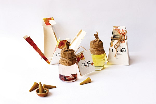 NUA Spa Packaging Design