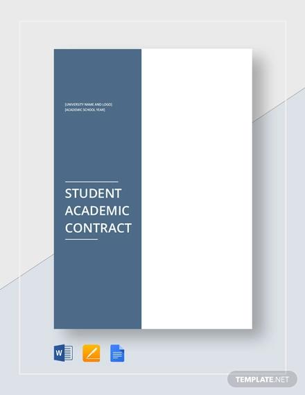 student academic contract