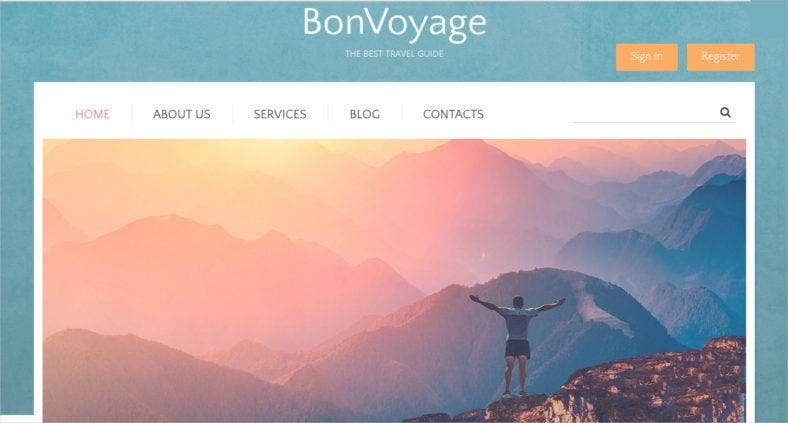 travel drupal template  788x423
