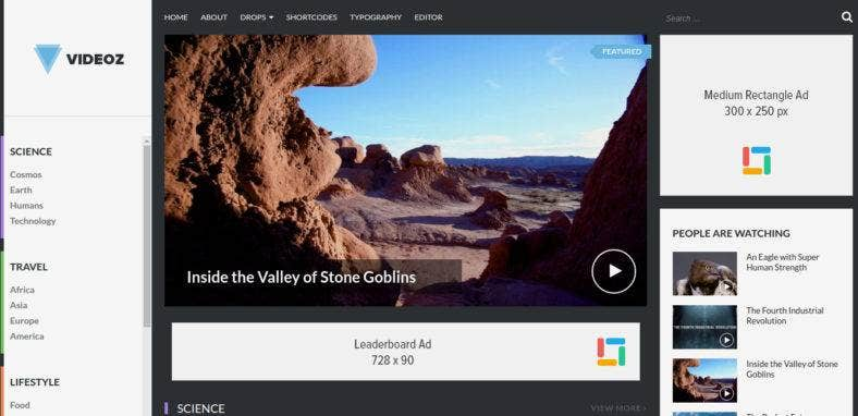 10+ Best Videography Website Themes 2017 - Video Blogs ...