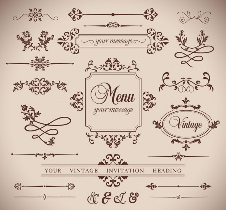 vintage style free vector