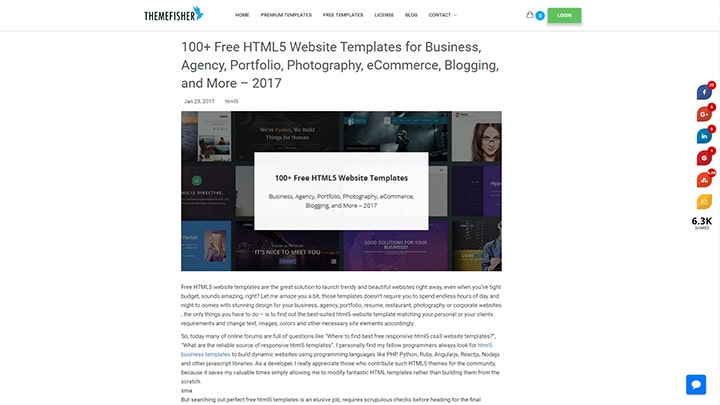 web-design-templates-themefisher