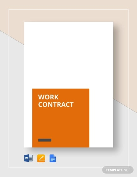 work contract4