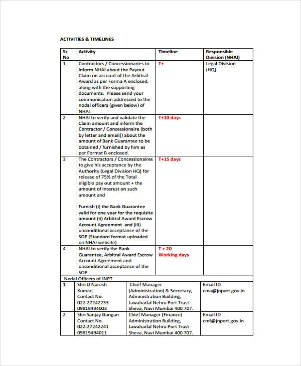Simple Timeline Templates Free Word PDF Format Download - Legal timeline template