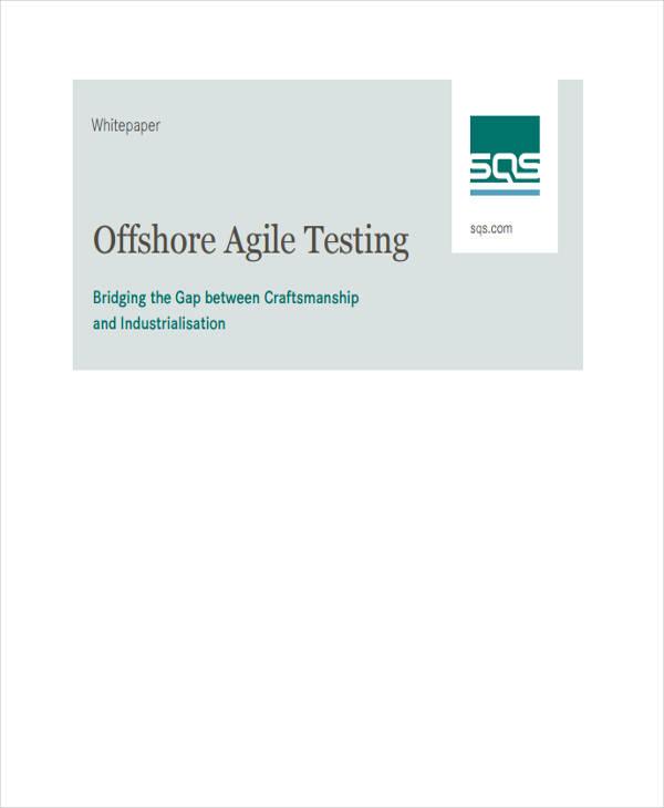 agile testing white paper