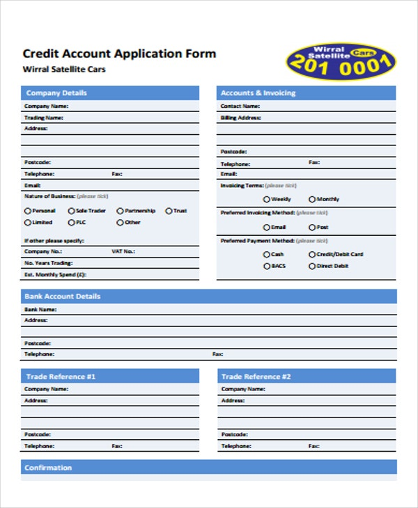 Application Form Templates  Free  Premium Templates