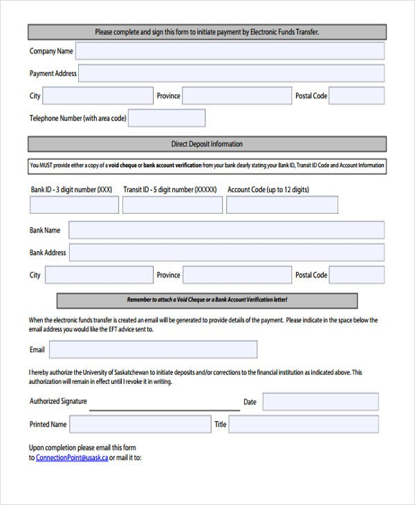 application for fund transfer letter