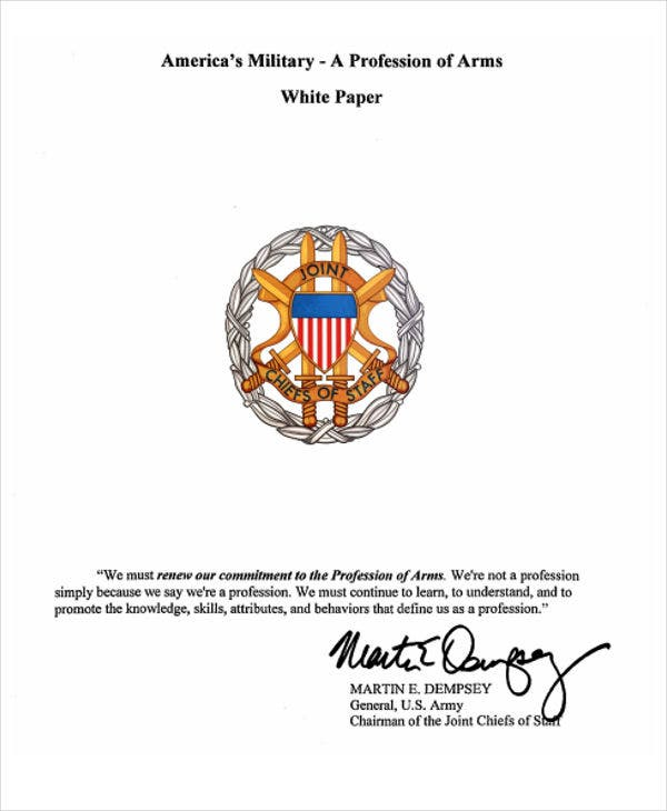 army profession white paper2