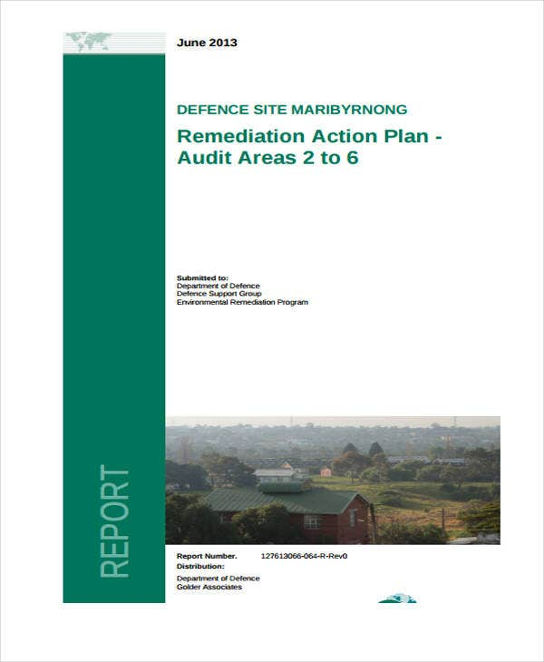 audit remediation action plan