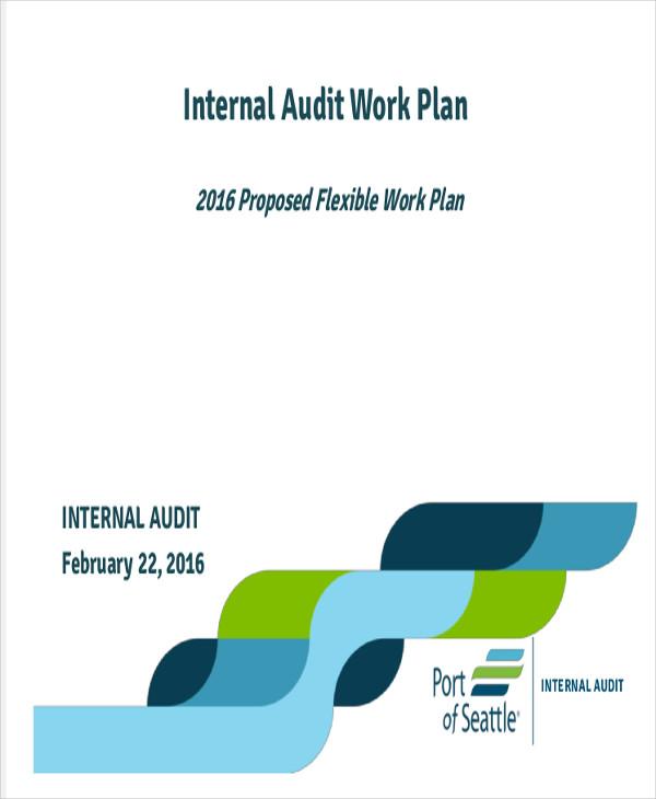 audit work plan