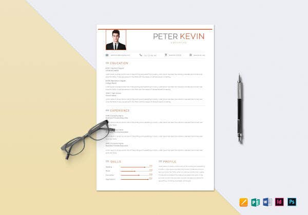 bpo-executive-resume-template