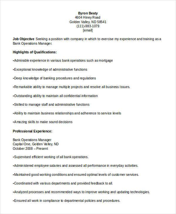 36 manager resume templates download free premium templates