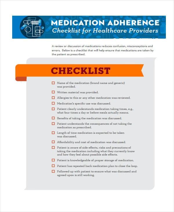 basic compliance checklist