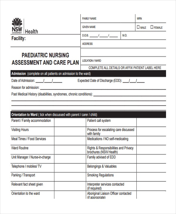 Nursing Assessment Form Auditory Most Common Cris Luthers Advanced
