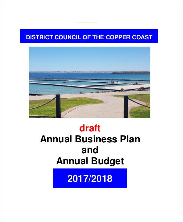 17  annual budget templates