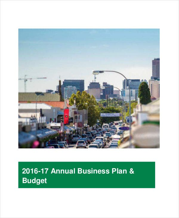 business annual budget