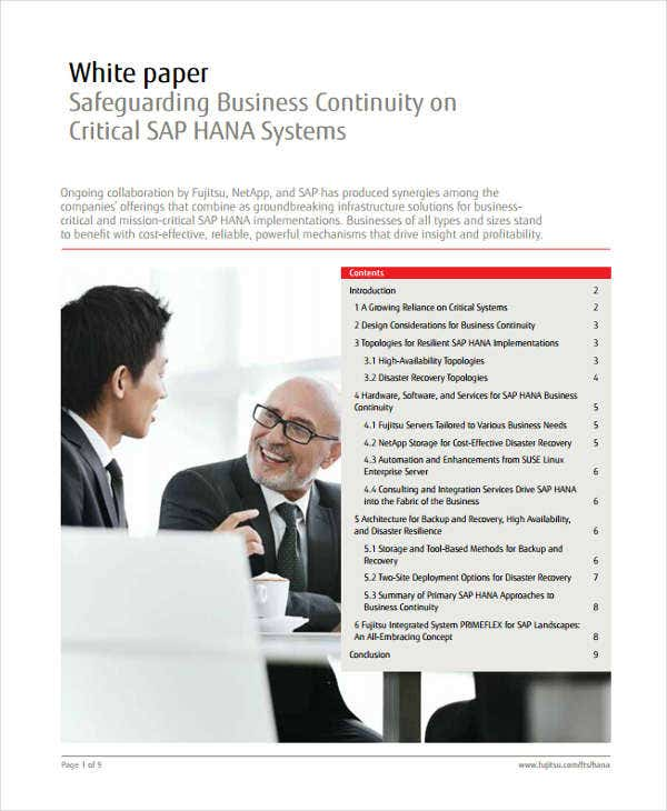 business continuity white paper1